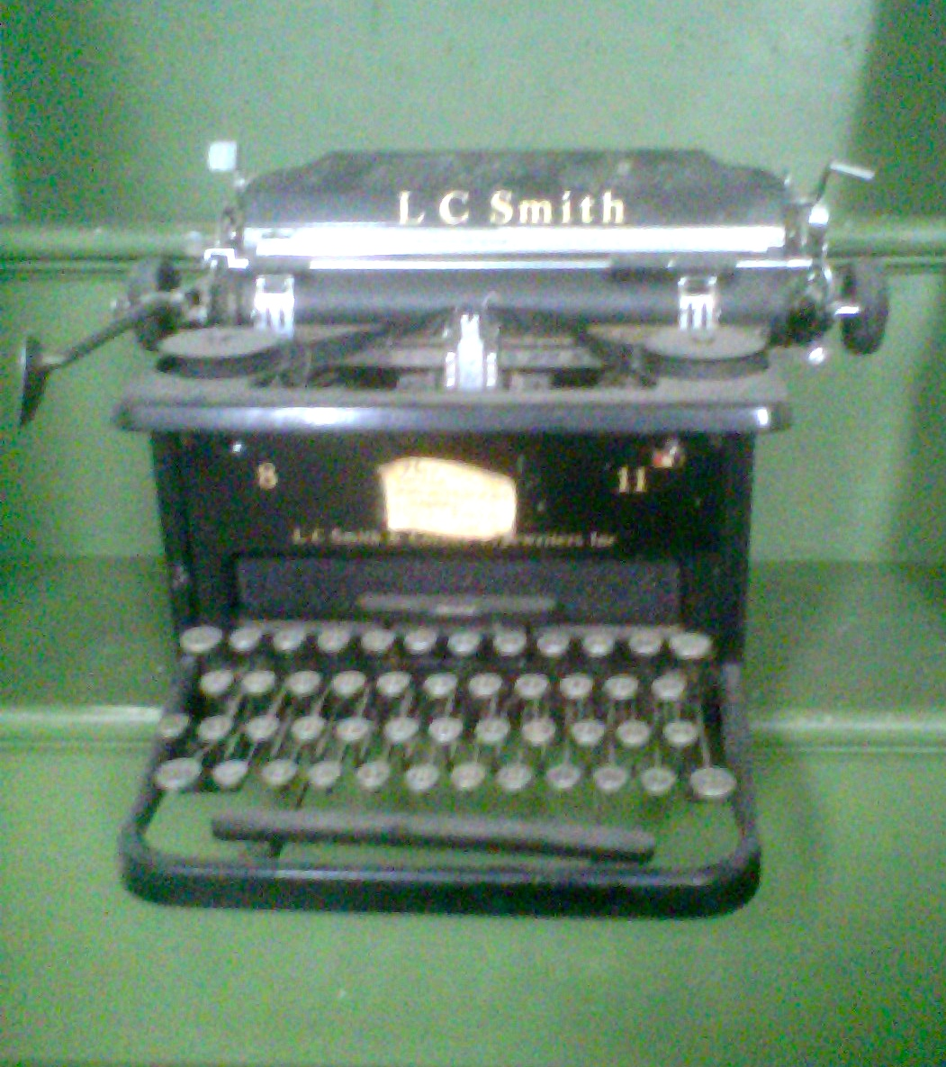 My First Interviews Were Written on this Typewriter