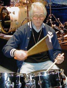 Freddie Gruber at NAMM