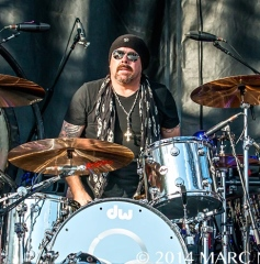Jason Bonham Led Zeppelin Experience performs on day three of the 2014 Rock On The Range Festival at Crew Stadium  in Columbus Ohio on May 18th 2014 Photo by Marc Nader