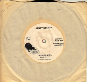 I still have my copy of Sandy Nelson's