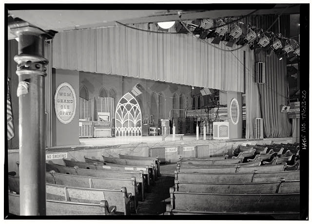 Original Grand Ole Opry stage