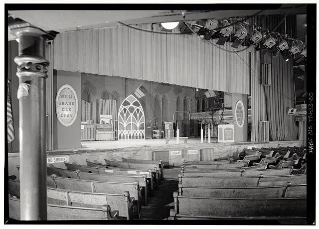 Original Grand Ole Opry stage