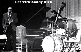 Pat LaBarbera with Buddy Rich