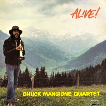 """Alive!"" LP Front Cover"