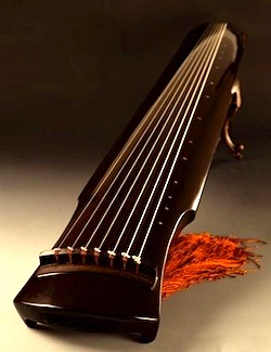 Chinese Zither (Photo Credit ChineseCauldron.com)