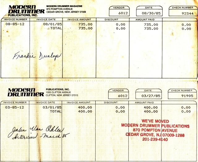 md invoices dunlop von ohlen
