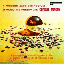 Modern Jazz Symposium on Music & Poetry LP cover