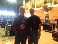 L-R: Scott K Fish & Barry Keane